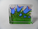Glass Card Summer Flowers HL-S
