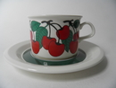 Kirsikka Tea Cup and Saucer Arabia SOLD OUT