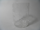 Flora Vase clear glass Toikka