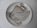 Fish Plate 19,5 cm  Anja Juurikkala SOLD OUT