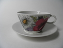 Valmu Tea Cup and Saucer Tomula
