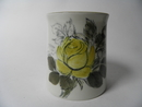 Vase yellow Rose HLA