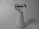 Glass Cat white Jakobino