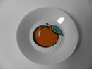 Tutti Frutti -sarjan pieni lautanen Aprikoosi