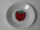 Tutti Frutti small Plate Raspberry