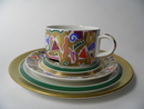 Bebop Tea Cup and 2 Plates Arabia SOLD OUT