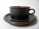 Ruska Tea Cup and Saucer Arabia