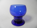 Wine glass blue 1111 Kaj Franck
