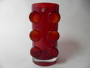 Pablo Vase ruby red