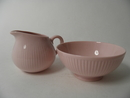 Sointu Sugar Bowl and Creamer rosa Arabia SOLD OUT