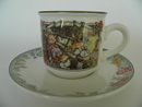 Foxwood Tales Coffee Cup and Saucer V&B