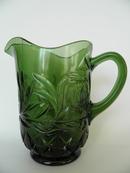 Vihreä lasikannu Riihimäen lasi