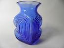 Amuletti sininen Riihimäen lasi