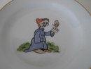 Children's Plate Seven Dwarfs SOLD OUT