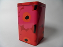 Unikko Tin Box red Marimekko SOLD OUT