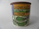 Grönkvists Gröna Gurkor -purkki Anita Nylund MYYTY