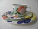 Arctica Poetica Tea Cup and 2 Plates SOLD OUT