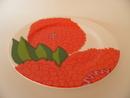 Primavera Plate 19,5 cm red Iittala