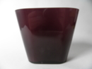 Evergreen Vase claret