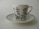 Emilia Coffee Cup and Saucer Arabia