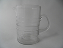 Rustica Pitcher clear glass Kaj Franck