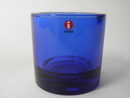 Kivi Candleholder 80 mm cobalt blue Iittala