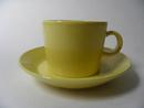 Teema Tea Cup and Saucer Yellow Arabia
