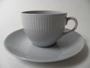Sointu Coffee Cup and Saucer blue Arabia