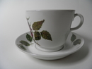 Rose big Cup and Saucer Arabia