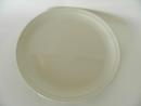 Olive Dinner Plate white