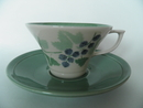 Viinimarja Tea Cup and Saucer