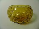 Rypäle -malja amber Kumela