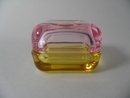 Vitriini 60x60 mm pink-yellow Iittala
