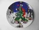 Moomin Christmas  Wall Plate large Arabia