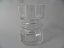 Tiimalasi (Hourglass) clear glass Nanny Still