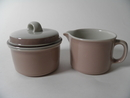 Koralli Creamer and Sugar Bowl Arabia SOLD OUT