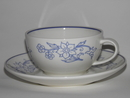 Sininen Keittiö Tea Cup and Saucer