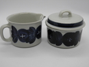Anemone Creamer and Sugar Bowl Arabia SOLD OUT