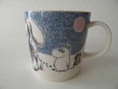 Moomin Mug Crown snow-load Arabia