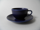 24h Espresso Coffee Cup and Saucer blue Arabia SOLD OUT