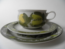 Arabia Ateljé Tea Cup and 2 Plates SOLD OUT