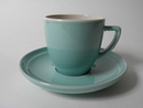 Olive Coffee Cup and Saucer Kermansavi