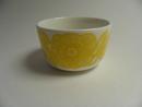 Kurjenpolvi Bowl yellow Marimekko