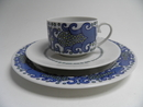 Esmeralda Coffee Cup and 2 Plates SOLD OUT
