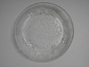 Fauna plate clear glass SOLD OUT