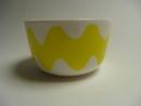 Lokki Bowl yellow Marimekko
