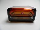 Vitriini 108x108 mm pomeranssi-harmaa