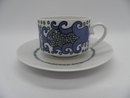 Esmeralda Coffee Cup and Saucer blue