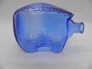 Säästöporsas sininen Riihimäen lasi