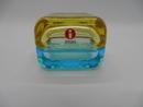 Vitriini 60x60 mm sininen-keltainen